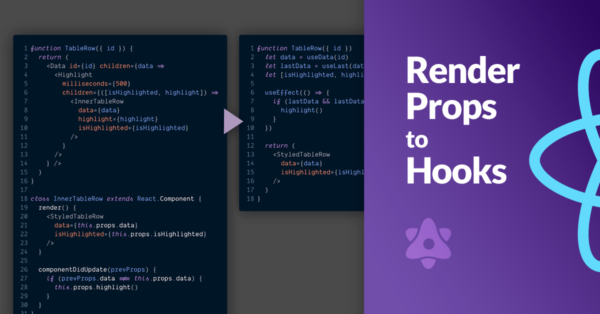From React Hooks to    Render Props?