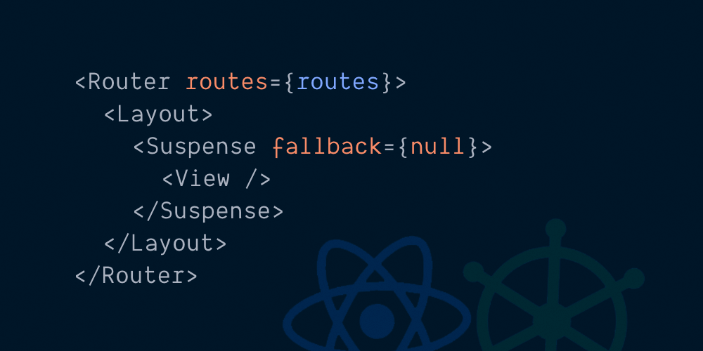 A React Router with Hooks and Suspense